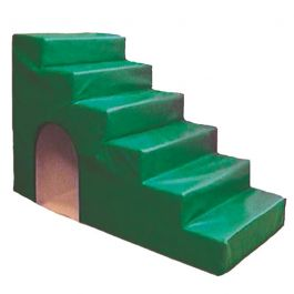 High Steps with Tunnel