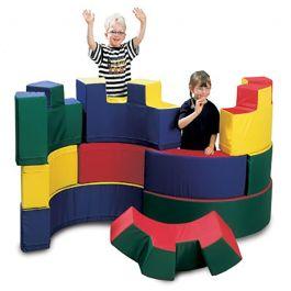Curvy Castle Construction Set
