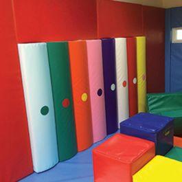 Rainbow Bumpas with Sound Set of 8
