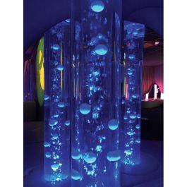 White Bubble Tube Balls