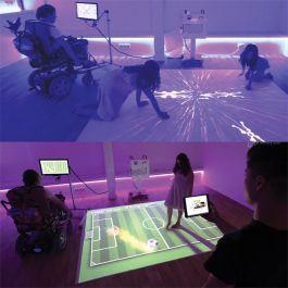 Mobile Interactive Floor Projection