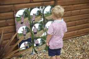 Domed Mirror Panels