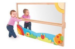Pull Up and Play Toddler Mirror