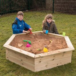 Wooden Sandboxes and Planters