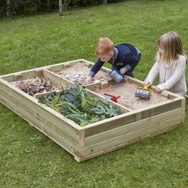 Small World Wooden Sandbox