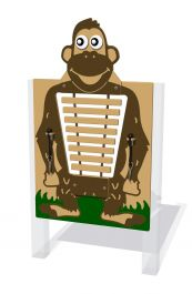 Mike the Monkey Composite Glockenspiel