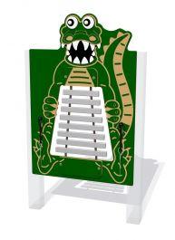 Charlie the Crocodile Ally Flat Glockenspiel