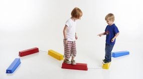 Plastic Stepping Balance Logs