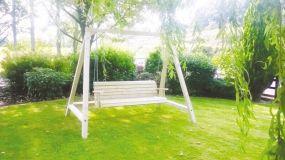 Wooden Summer Seat
