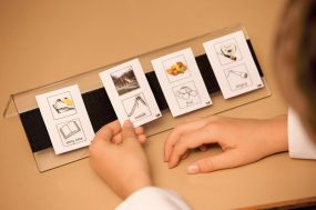 Desktop Visual Timetable Holder