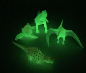 Glow In Dark Dinosaur Set