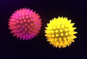 Flashing Spikey Light Up Ball