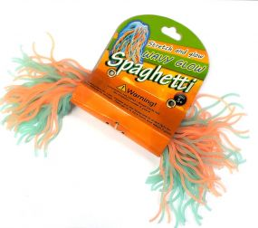 Wavy Glow Spaghetti Strings